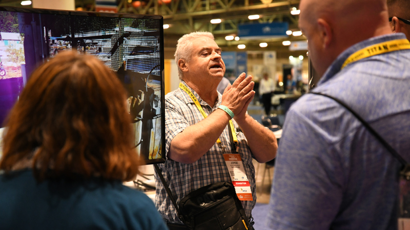Trade shows return to New Orleans' Ernest N. Morial Convention Center
