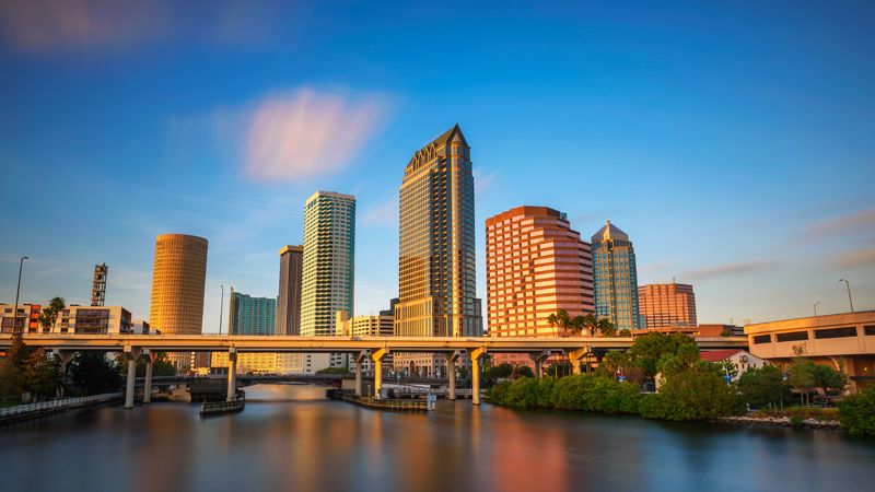Tampa, Miami lead the way as U.S. hotel occupancy reaches highest levels since last Feburary