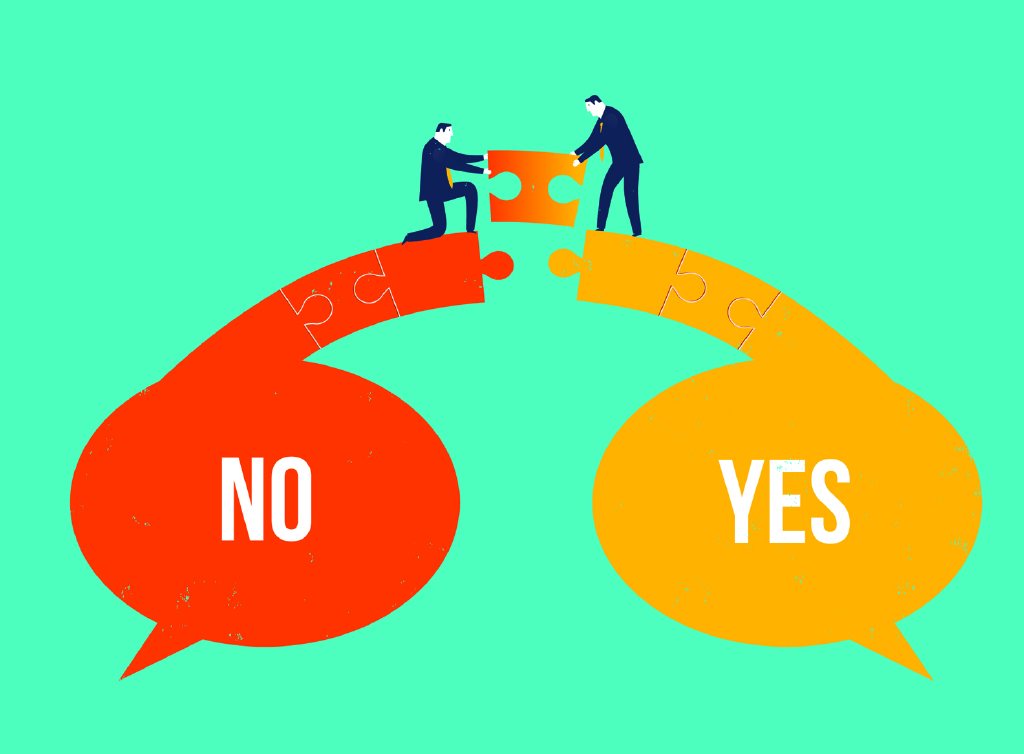 "Turning ""No"" into ""Yes"""
