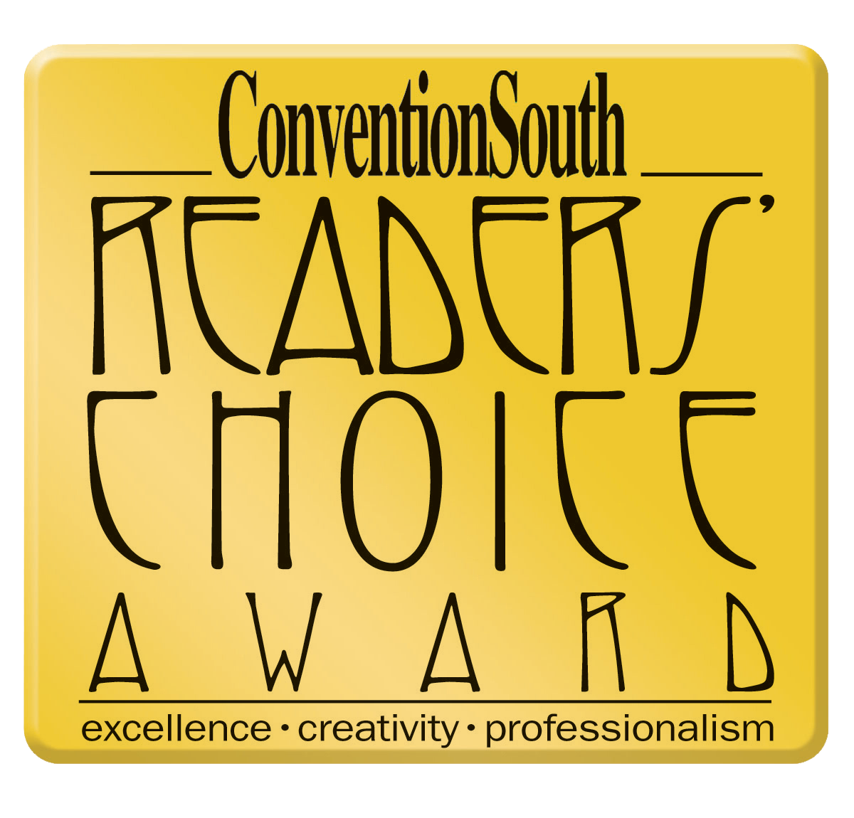 ConventionSouth's Readers' Choice Award