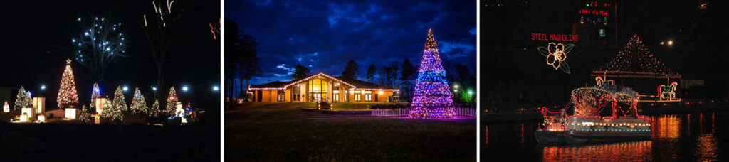 the louisiana holiday trail of lights trail runs along i 20 and i 49 in north louisiana and incorporates shreveport and bossier minden monroe west monroe