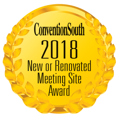 Convention South 2018 New or Renovated Meeting Site award
