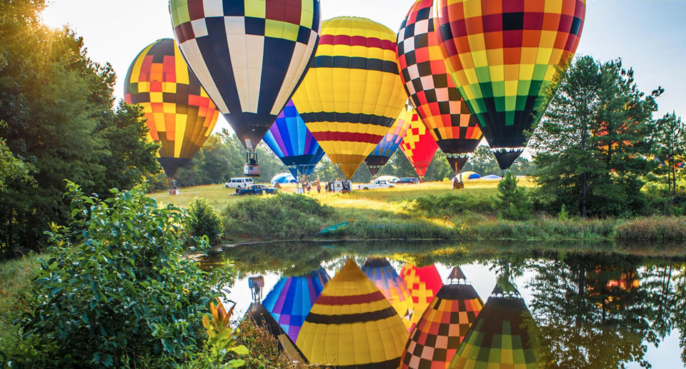 Great Texas Balloon Race. Credit: Jim King