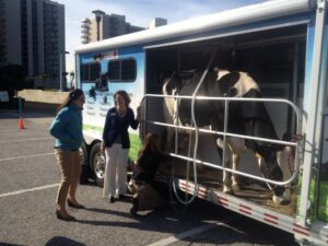 A mobile dairy classroom in Gulf Shores and Orange Beach in Alabama.