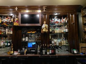 Patrick's Bar is a popular spot in New Orleans' Hotel Mazarin.