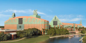 Walt Disney World Swan and Dolphin Resort is scheduled to reopen to guests on July 29. The facility has implemented 'Our Commitment to Care,' a new set of policies and procedures for employees and guests.