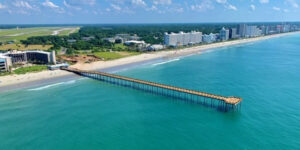 Myrtle Beach, S.C.'s iconic Springmaid Pier has reopened after a year-long reconstruction. The 1,680-foot long pier was severely damaged during Hurricane Matthew in 2016.