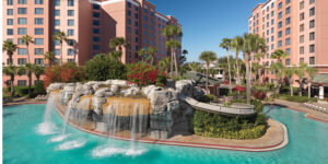 Caribe Royale Orlando is in the midst of a $125 million renovation which will include the complete overhaul of all 1,215 suites and the addition of a grand ballroom.
