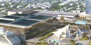 The first phase of the $1 billion expansion project of the Greater Fort Lauderdale/Broward County Convention Center is now underway. It is expected to finish in October, with full completion in 2024.