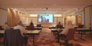 The Inn at Virginia Tech and Skelton Conference Center has unveiled four redesigned conference rooms which use the same technology developed by Virginia Tech for its modern-day classrooms.