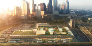 POST Houston, a mixed-use adaptive reuse development project, will feature a unique rooftop special event space, set to open in 2021.