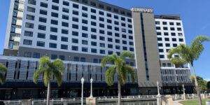 Fort Myers' 12-story, 243-room Luminary Hotel & Co., opened its doors on Wednesday, September 23.