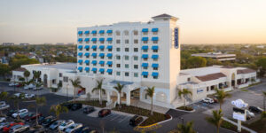 After closing due to the COVID-19 pandemic, The Karol Hotel in Tampa, Fla., reopened on Wednesday, November 11.
