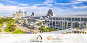 The Orange County Convention Center (OCCC) will welcome the Central Florida International Auto Show from Friday, December 18 to Sunday, December 20.