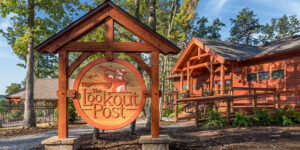 The Lookout Post is AOTG's small-group conference center overlooking the New River Gorge—soon to be known as the New River Gorge National Park & Preserve.