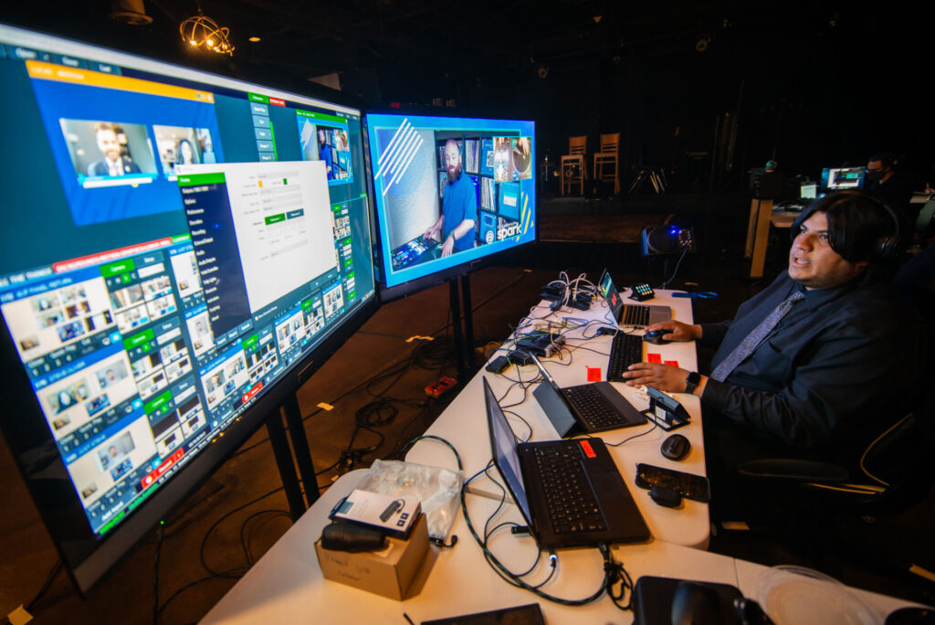 For event planners looking for something more polished than Zoom or WebEx for streaming, there are some mid-range streaming tools that can provide better production quality.