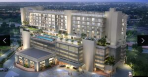 The 208-room Hilton Aventura Miami officially opened its doors last month.