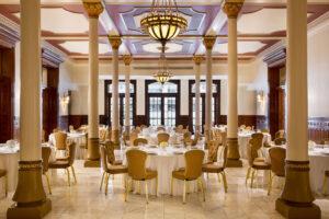The Driskill Mezzanine at Austin's Driskill Hotel can accommodate up to 750 guests.