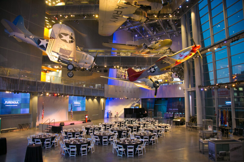 The National World War II Museum in New Orleans has seen a consistent demand for SMERF events.
