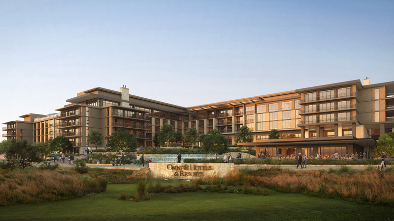 Ground has broken on the Omni PGA Frisco Resort, set to open in spring 2023. A $500 million investment, it is the largest resort currently in development in the U.S.