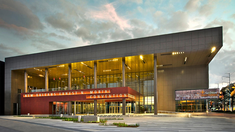 Architecture has been awarded a $7 million contract to design the Ernest N. Morial Convention Center's new meeting rooms and public spaces.