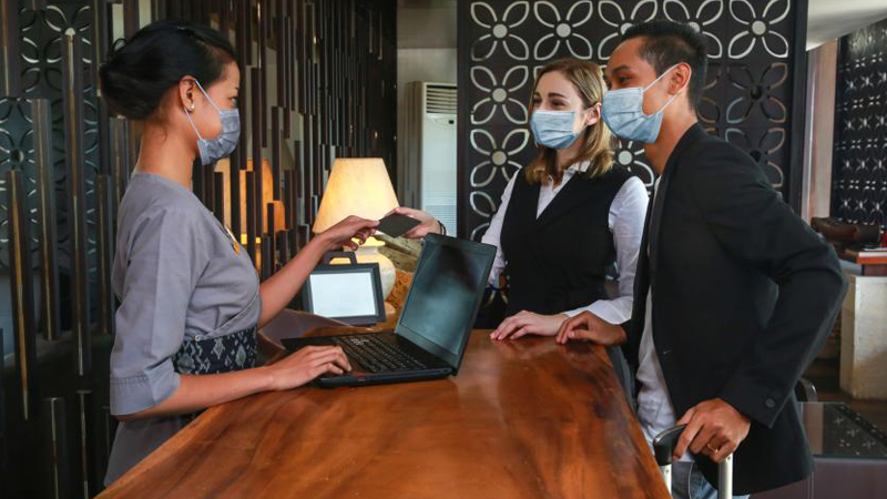 ] In accordance with updated guidance from the Centers for Disease Control and Prevention (CDC) and Occupational Safety and Health Administration (OSHA), the American Lodging & Hotel Association (AHLA) has eased face covering and physical distancing requirements for hotel employees.