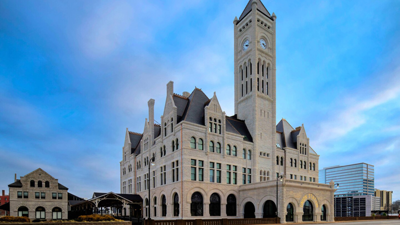 The Union Station Nashville Yards, Autograph Collection, has reopened after the first of several rounds of renovations. The hotel, built as a train station in 1900, features seven meeting events rooms with a total of 11,000 square feet of meeting space.