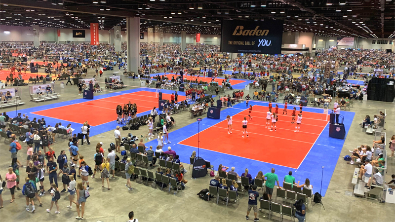The Orange County Convention Center recently hosted the Amateur Athletic Union's annual Junior National Volleyball Championships, welcoming more than 135,000 over a span of two weeks. The event created an estimated $173 million impact for the Orlando area.