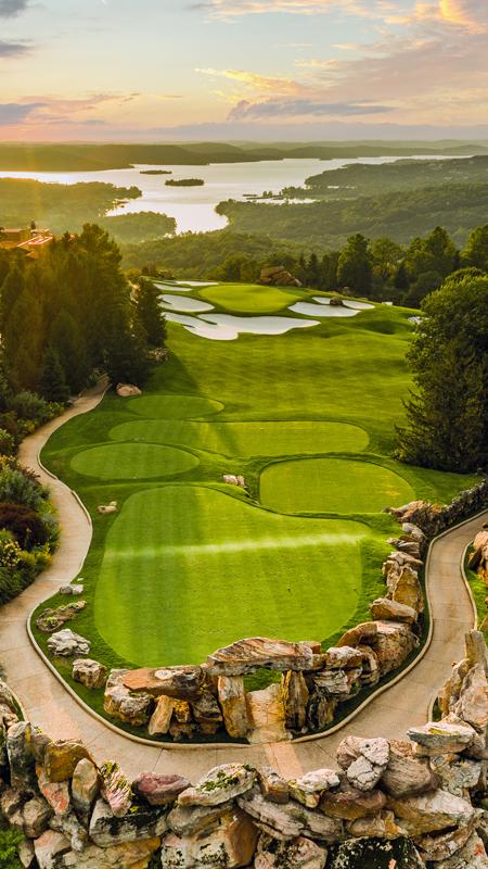 Top of the Rock Golf Course, Big Cedar Lodge