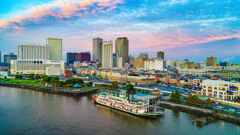 Starting next week, New Orleans will require people over age 12 to provide proof of vaccination or a recent negative COVID-19 test to enter indoor venues such as bars and restaurants.