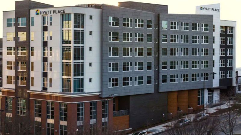 Apple Hospitality has announced its acquisition of Hyatt Place Greenville Downtown in Greenville, S.C.