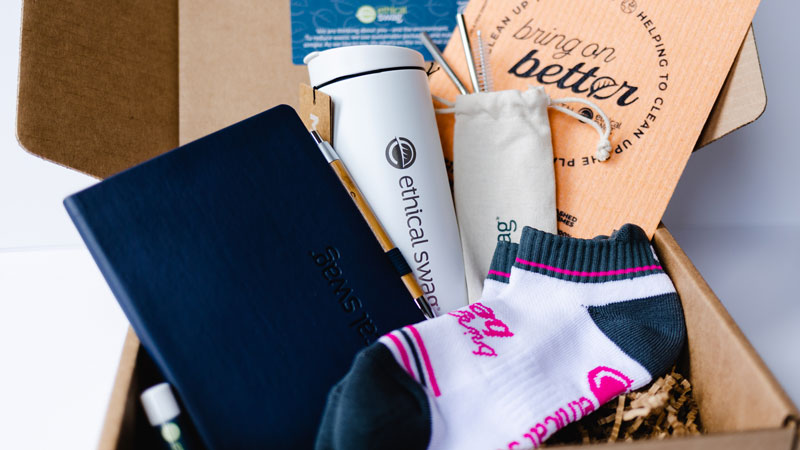 Ethical Swag provides sustainable promotional products to meet organizations' socially conscious ideals.