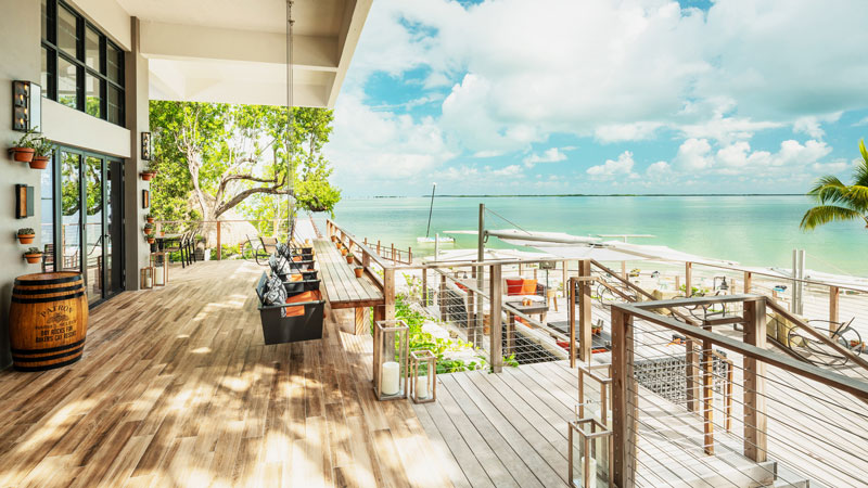 Hilton's Baker's Cay Resort Key Largo incorporates sustainable and locally sourced materials into its design and in-room amenities and products.