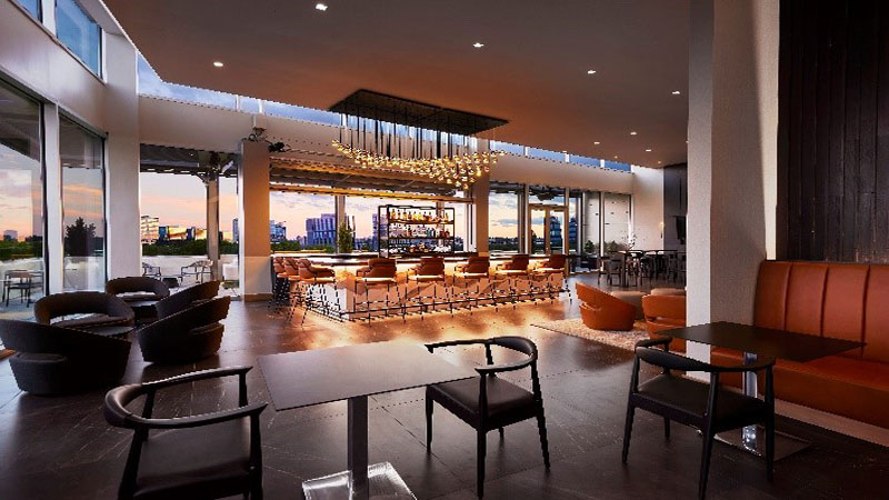 The AC Hotel Atlanta Perimeter officially opened its doors on September 9, featuring the area's first rooftop bar, Bar Pari.