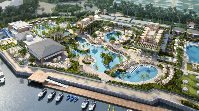 Boca Resort & Club is undergoing a $175 million transformation, reverting back to The Boca Raton name it had from 1944 to 1988.